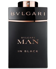 BVLGARI Man in Black Eau de Parfum Spray, .5, 1 oz, 3.4, oz Perfect Gift