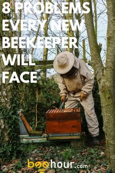 8 Beekeeping problems that every beekeeper will face. Learn how to overcome them! Fashion Basics, Bottle Label, Skandinavisch Modern, Bee Hive Plans, Beekeeping For Beginners, Raising Bees, Bee Do, Beekeeping, Vegetable Gardening