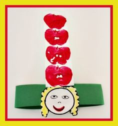 Dr Seuss Apples-On-Top-Headband-Craft
