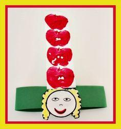 Dr Seuss Apples-On-Top-Headband-Craft