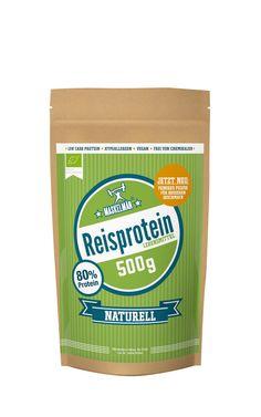 Veganes Reisproteinpulver von Maskelmän. Die Eiweissquelle für vegane Sportler! #vegan #veganfood #veganpowerfood #pflanzlichimfall #protein