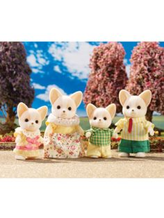 Calico Critters Chihuahua Dog Family @Cassidy Scherer