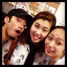 With kana Murakami and Miki Ando(JAPAN)