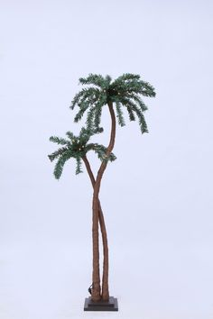 Indoor Palm Tree with 48 LED Lights and AC Adaptor