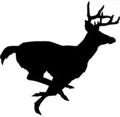 Running Buck Decal by VinylDesignsByKim on Etsy