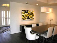 Like this chandelier for dining room    HAMMERSCHMIDT CONTEMPORARY DINING ROOM