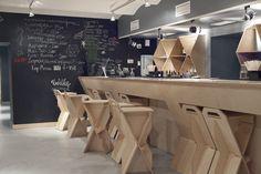 Een bar van multiplex - Roomed