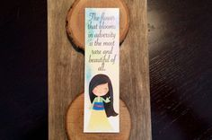 Leading Ladies Collection Bookmark by OtterNonsenseDesigns Lead Lady, Bookmarks, Bottle Opener, Bloom, Trending Outfits, Unique Jewelry, Disney, Handmade Gifts, Etsy