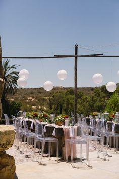 Open Air Restaurant, Tea Lights, Wedding Decorations, Reception, Patio, Candles, Weddings, Outdoor Decor, Food