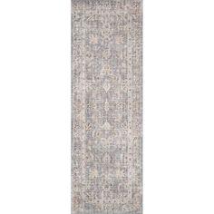 Joss & Main Skye Gray/Apricot Area Rug & Reviews | Wayfair Indoor Rugs, Outdoor Area Rugs, Vintage Space, Vintage Rugs, Blush And Grey, Gray, Area Rugs For Sale, Oriental Design, Carpet Stains