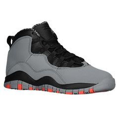 6a67e16c235c Jordan Retro 10 - Boys  Preschool - Cool Grey Infrared 23 Black