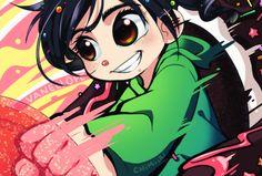 Fan art of Vanellope by =Chimiiki on deviantART