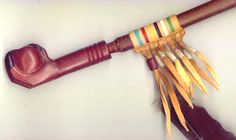 The Native American Chanunpa, the Sacred Pipe