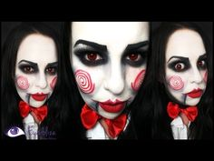 Jigsaw from Saw Makeup Tutorial by EyedolizeMakeup - YouTube