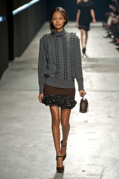 Show Review: Christopher Kane Fall 2014 - The Fashion Bomb Blog /// All Urban Fashion... All the Time