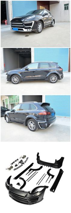 Black FRP Sport Body Kit for Porsche Cayenne 958 GTS Sport 4-Door 15-17  JCSPORTLINE-power assisted made in china!   More detailed products,pls feel free to contact me through whatsapp/wechat 0086 15271799951 or email:sales024@jcsportline.net