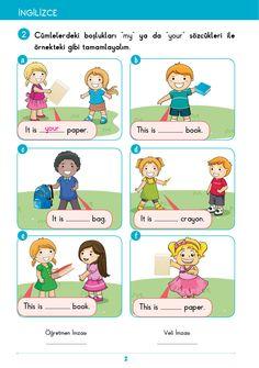 2. Sınıf Etkinlik İngilizce Alıştırmalar Learn English Grammar, English Vocabulary Words, Education English, English Class, Ingles Kids, Compound Words, Kindergarten Reading, Exercise For Kids, Worksheets For Kids