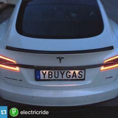 #evvanityplate #vanityplate #electriccar  Repost: @electricrideSay no more #teslamotors #teslamodels #electricride