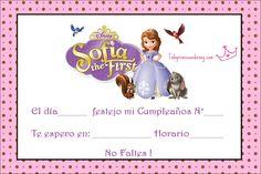 Tarjetas De Invitacion A Cumpleaños De La Princesa Sofia Para Compartir 9 HD Wallpapers