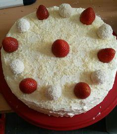 Raffaelo - Erdbeer Torte
