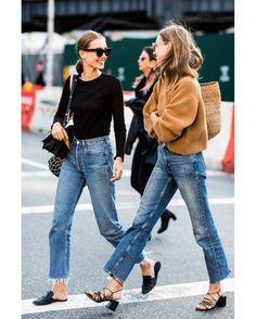 "12 k gilla-markeringar, 57 kommentarer - FashioninPills (@fashioninpills) på Instagram: ""#MODELSOFFDUTY #NYFW #MBFW #SS18 credits to @sandrasemburg for @vogueparis #STREETSTYLE"""