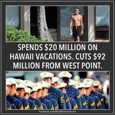 &&& Thats just ONE of the many vacations him and his family make... #obama #nobama #supportourmilitary