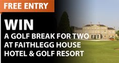 Win a Luxury Golf Break for two at Faithlegg House. Simply fill in your details to be in to win. Free Entry, Competition, Ireland, Irish, Fill, Luxury, House, Irish Language, Home
