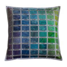 HOFFMAN 1 Throw Pillows, Handmade, Scrappy Quilts, Hand Made, Decorative Pillows, Decor Pillows, Scatter Cushions, Arm Work
