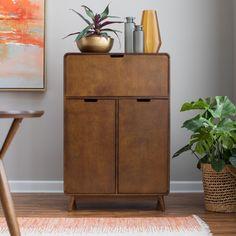 Belham Living Carter Mid Century Modern Bar Cabinet - RH160929