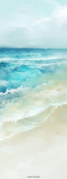 watercolor #LandscapeWatercolor