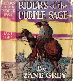 Pearl Zane Grey (January 31, 1872 – October 23, 1939) was an American author best known for his popular adventure novels and stories that presented an idealized image of the American frontier. Riders of the Purple Sage (1912) was his best-selling book
