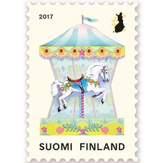 Old circus aesthetics in the Carousel stamp. A special item introduced by Finland Post – World Stamp News