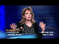 Janie DuVall on It's Supernatural with Sid Roth - Healing Rivers