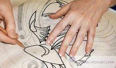 Семь способов перенести рисунок на ткань