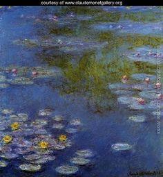 Water Lilies32 - Claude Oscar Monet - www.claudemonetgallery.org