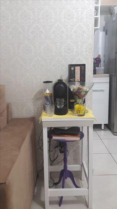 Banco sob banco! Cantinho do café expresso!! Hummmmm delícia!!