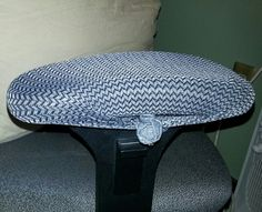 Easy Cover For Torn Armrest On Office Chair (home Office) 1. Fancy Nylon