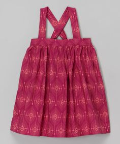 Loving this Fuchsia Feather Organic Dress - Infant, Toddler & Girls on #zulily! #zulilyfinds