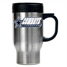 Dallas Cowboys Stainless Steel Travel Coffee Mug