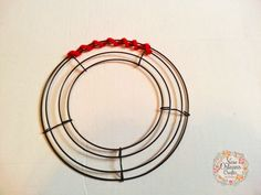 How To Make A Spiral Deco Mesh Wreath     Patriotic Red, White and Blue Spiral Deco Mesh Wreath     So I am going to attempt to give a quic...