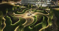 Cliff Garten has completed Receptor, a landscape sculpture at Patriot Ridge that…
