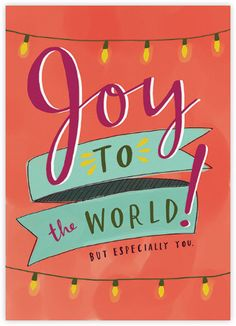 Joy to the World - Paperless Post