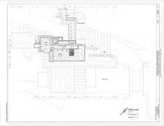 Third Floor Plan   Fallingwater, State Route 381 (Stewart Township),  Ohiopyle,