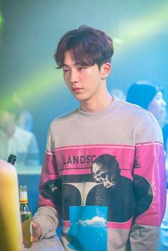 Check Out Nam Joo Hyuk at the Club in 'Weightlifting Fairy Kim Bok Joo' Stills Nam Joo Hyuk Cute, Nam Joo Hyuk Lee Sung Kyung, Jong Hyuk, Lee Jong Suk, Asian Actors, Korean Actors, Korean Guys, Korean Dramas, Nam Joo Hyuk Weightlifting Fairy