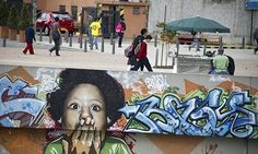 Graffiti on buildings in the Colombian capital, Bogotá, were once considered as vandalism but the city's mayor has given permission for cert...