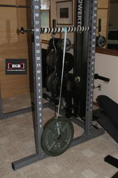 Homemade Forearm Exerciser. I Made This Using Items I Had Lying Around The  House. Homemade Workout EquipmentExercise ...