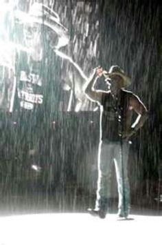 It happens in the rain!