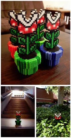 Another example of my affection for pixel based projects in a real world space. This piece - 8-bit Botany - was created by Graphic Designer Jonathan Huang as a subtle and eye catching way to energise public spaces.