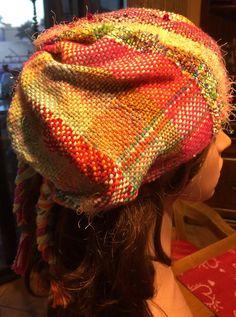 Saori Woven Hat