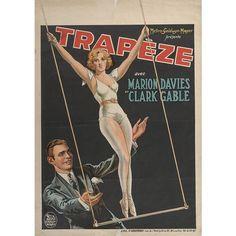Circus Movies: Trapeze. Date: circa 1930.